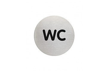 WC skilti Durable WC