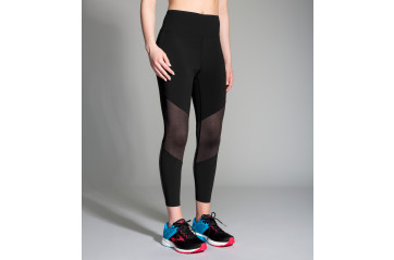 Brooks Ghost-High-Waist Mesh Crop