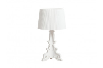 Kartell - Bourgie Lampi Matt White Limited Edition