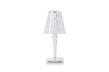 Kartell - Battery Lampi Crystal