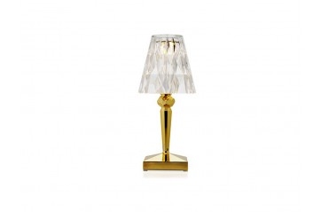 Kartell - Battery Lampi Gold