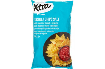 Xtra Tortilla Chips Salt 450g