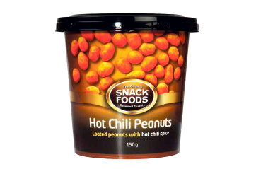 Snackfood Hnetur Hot Chilli 150gr.