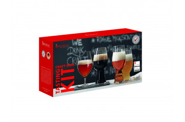 Spiegelau Beer Cl. tasting kit Craft beer 4 st