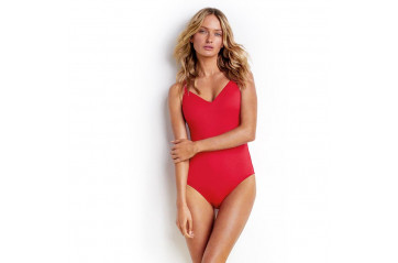 Seafolly Sweetheart One Piece Maillot Chilli Red