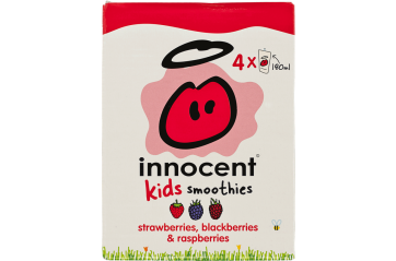 Innocent Kids Strawberry/Blueberry/Raspberry 180ml