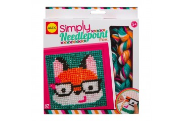 Simply Needlepoint Fox Kit