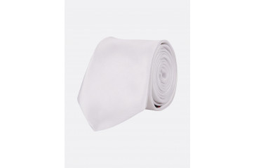 Poly Tie Solid White