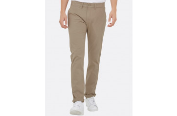 Stretch Chinos Slim Khaki
