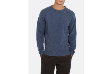 Sweater Lambswool L.Indigo