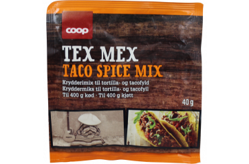 Coop Mexico Mix Taco Spice.