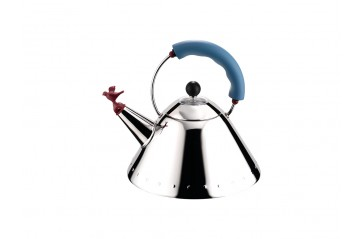 Alessi - Michael Graves Ketill Blue