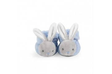 Kaloo plume booties rabbit blue