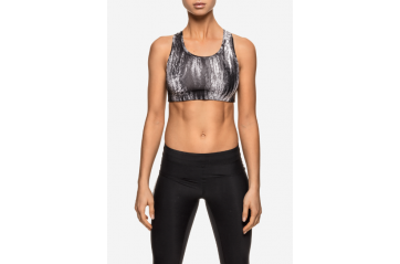 Iconic sports bra – Black oblique