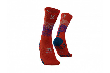 CompresSport Mid Compression Socks Orang