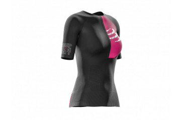 Triathlon postural Areo ss top womans bl