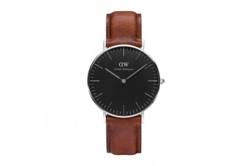 Daniel Wellington St. Mawes Sterling Black 36 DW00100142