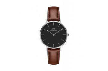 Daniel Wellington Petite St. Mawes Sterling Black 32 DW00100181