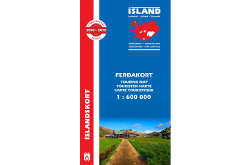 Ferðakort 1:600 000 / Touring Map