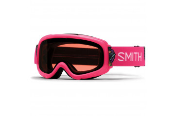 Smith Gambler Air skíðagleraugu Crazy Pink