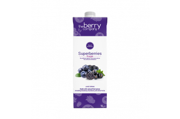 Berry safadrykkur superberry dökk ber 1ltr