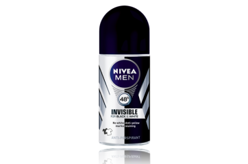 Nivea Men Deo Invisible Black&White Rollon 50ml