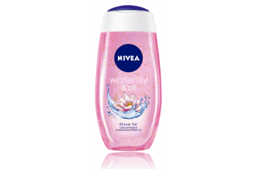 Nivea Sturtusápa Waterlily&Oil 250ml