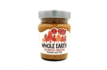 Whole Earth Hnetusmjör Crunchy 227g