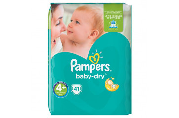 Pampers Baby S4 + Maxi + 9-20kg 41stk