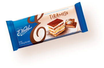 Milk chocolate Tiramisu 293g