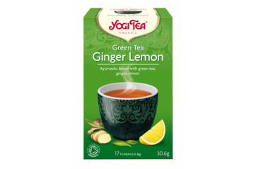 Yogi Te Green Tea Ginger Lemon 30gr