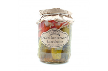 Dill Pickles sweet & acid 650g
