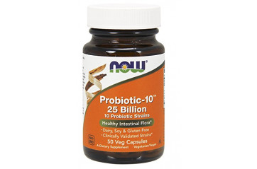 Now Probiotic-10 50 Bill 50Vc