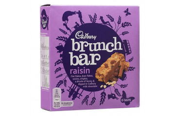 Cadbury Brunch Raisin 6stk 210g