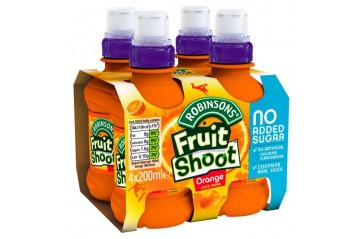 Fruit Shoot 4pk Appelsínu 200ml