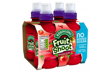 Fruit Shoot 4pk Sum Fruits 200ml