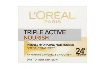 LOREAL Krem Triple Active Nutri Pot 50ml