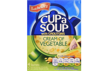 Batchelors bollasúpa cream vegetable 126g