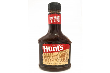 Hunts BBQ Honey Mustard 510g