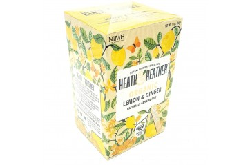 H&H Organic lemon & ginge in envelopes 20stk