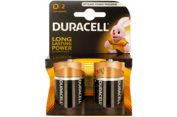 Duracell Plus Power D 2stk