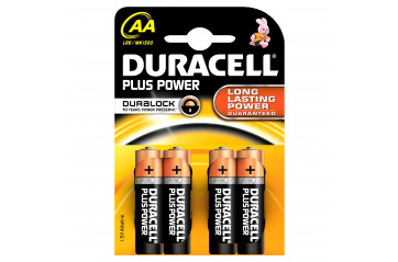 Duracell Plus Power AA 4stk