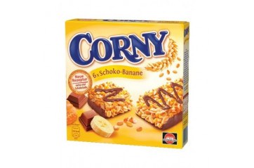 Corny chocolate and banana 6x50gr