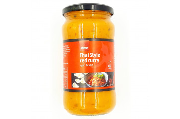 Coop Sósa Thai Red Curry 490g
