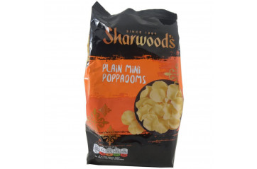 Sharw Poppadums mini 55g
