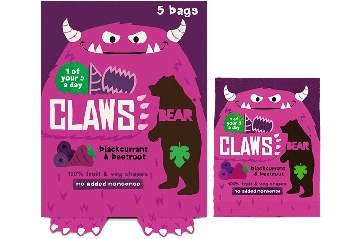 BEAR Claws Blackcurrant Beetroot (5x18g)