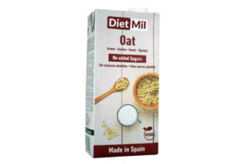 Dietmil Oat no added Sugar 1L