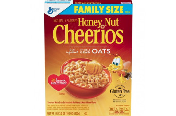 *GM Honey Cheerios 552g.