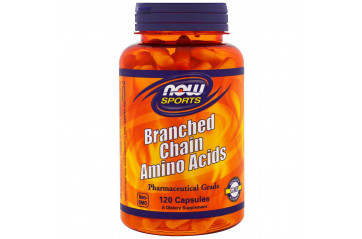 Now Branch-Chain Amino 120Caps