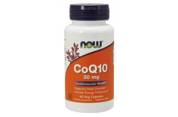 Now Q10 30mg 60 hyl/vegan